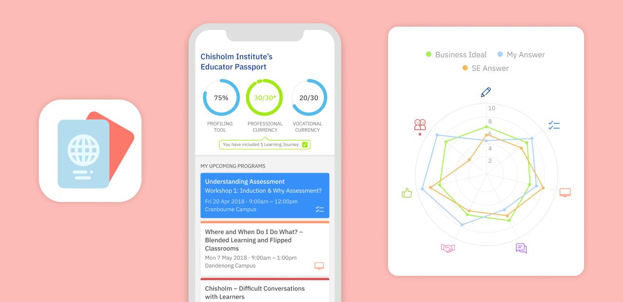 Educator Passport App by Wave Digital
